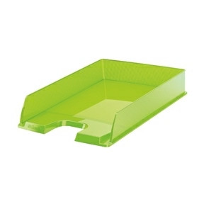 Brevbakke A4 Esselte Europost - Transparent grøn