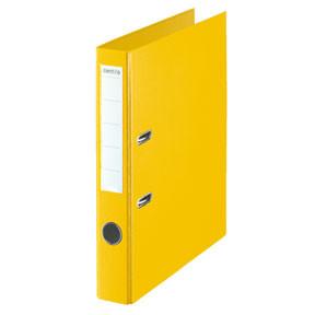Esselte LAF Binder w/o shoe PP A4/50mm yellow