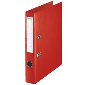 Centra A4 brevordner med 50 mm ryg - Rød