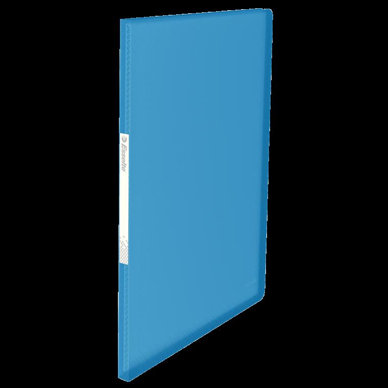 A4 Displaybog Esselte Vivida Blå med 20 lommer - 623990