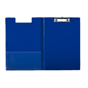 Esselte Clipboard  with front Cover blue