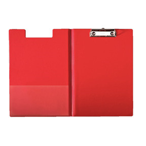 Esselte Clipboard  with front Cover red