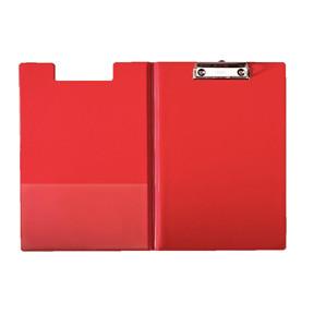 Clip board A4 med forside Esselte - rød