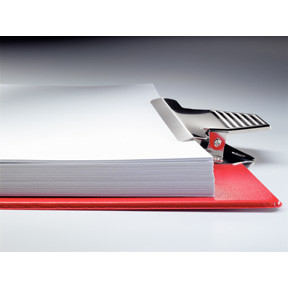 Esselte Clipboard w/out frontCover big capac red
