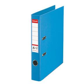 Brevordner Esselte No. 1 A4 lysblå med 50 mm ryg - 811411