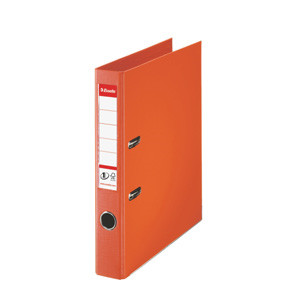 Brevordner Esselte No. 1 A4 orange med 50 mm ryg - 811440
