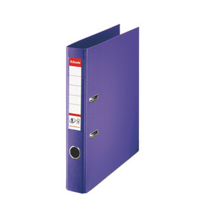 Brevordner Esselte No. 1 A4 violet med 50 mm ryg - 811540