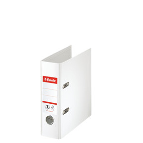 A5 brevordner Esselte No1 hvid 468600 - 75 mm ryg