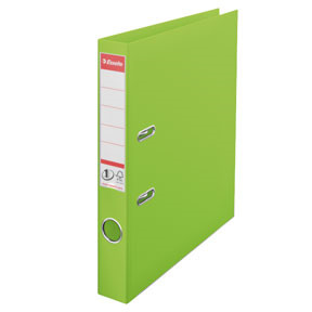 Esselte No1 brevordner A4 med 50 mm ryg | Vivida Grøn