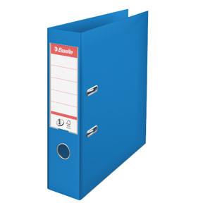 A4 brevordner Esselte No1 med 75 mm ryg | Vivida blå