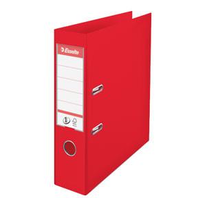 A4 brevordner Esselte No1 med 75 mm ryg | Vivida Rød