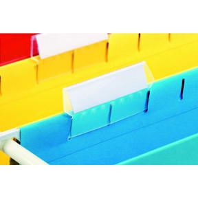 Fane med indstik til Esselte Classic hængemapper 90 x 15 mm - 25 stk i pakke