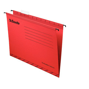 Esselte Suspension File standard FC red (25)