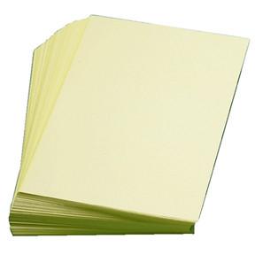 Esselte - Dobbelt ark A4 gul uden linjer - 250 stk