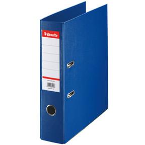 A4 brevordner Esselte Standard med 75 mm ryg - Blå