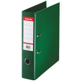 A4 brevordner Esselte Standard med 75 mm ryg - Grøn