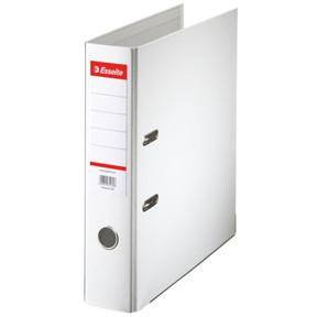 A4 brevordner Esselte Standard med 75 mm ryg - Hvid