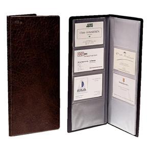 Esselte - Business Card wallet 63 x 95 mm- sort