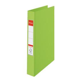 Esselte Vivida Ringbinder PP A4 4RR/25mm green