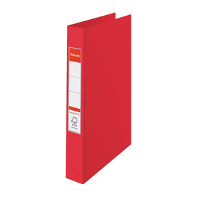 Esselte Vivida Ringbinder PP A4 4RR/25mm red