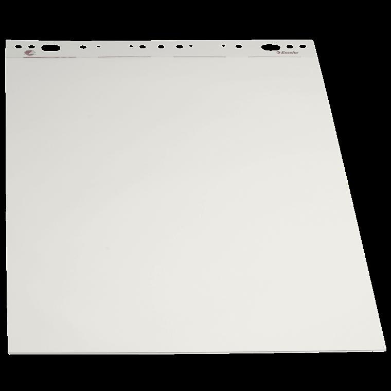 Esselte Flipoverpapir 59 x 80 cm - ulinjeret ark - 50 ark