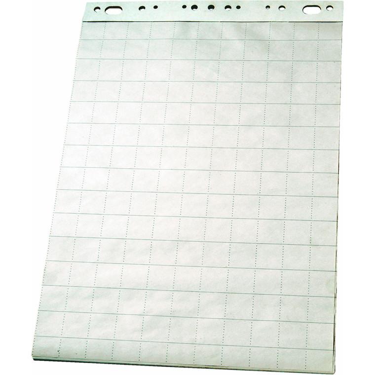 Esselte Flipoverpapir 85 x 60 cm - kvadreret ark 96551 - 50 ark
