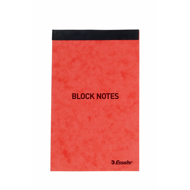 Esselte Notesblok linieret - Orange 130 x 80 mm toplimet 45553 - 50 ark