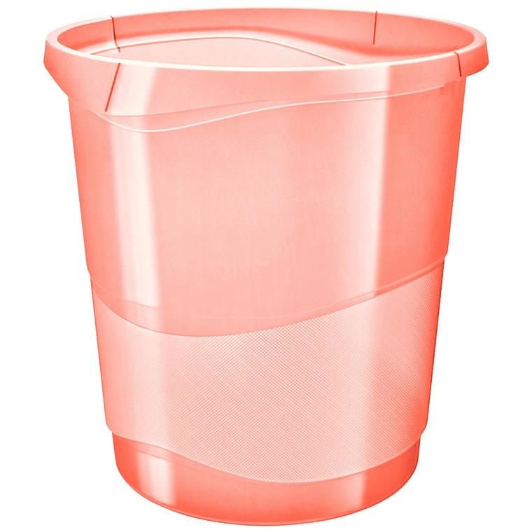Esselte Papirkurv Colour'Ice 14L abrikos