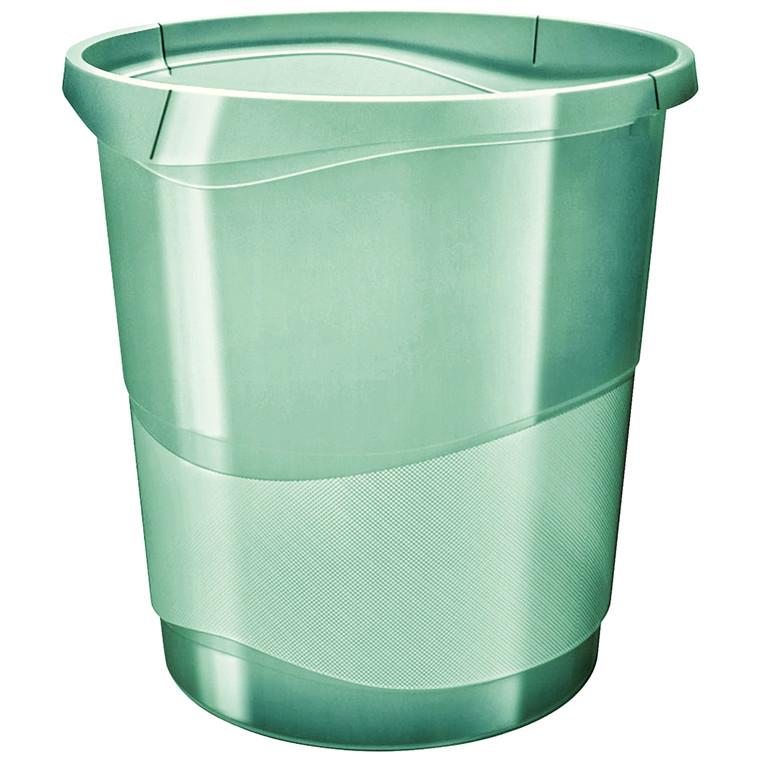 Esselte Papirkurv Colour'Ice 14L grøn