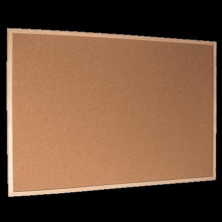 Opslagstavle kork 60 x 90 cm Esselte - Med træramme