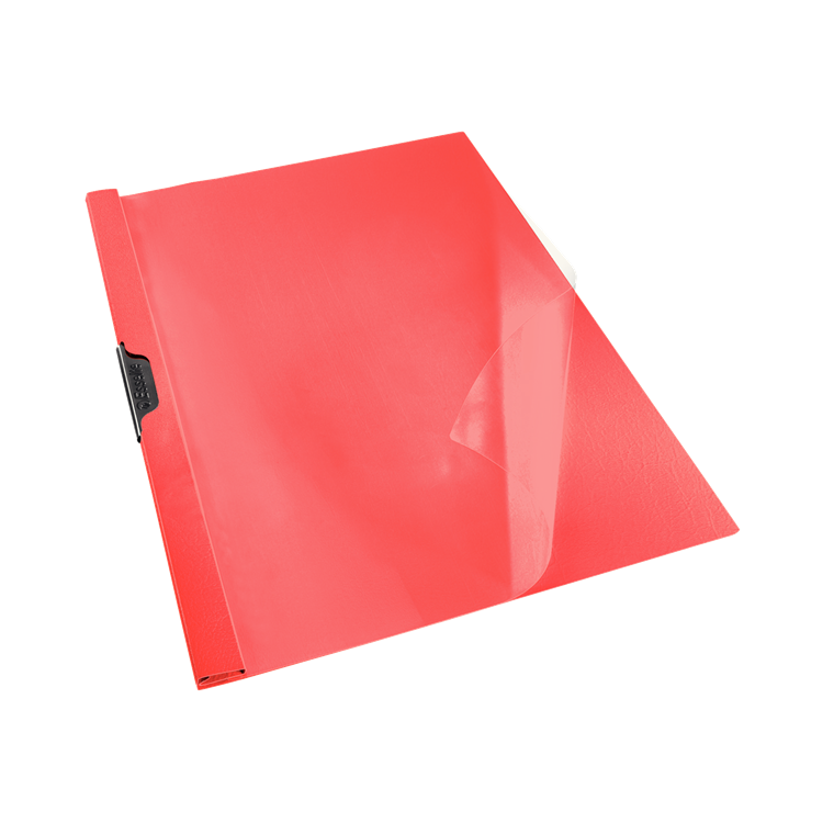 Esselte Universalmappe A4 rød med klemryg - 563730
