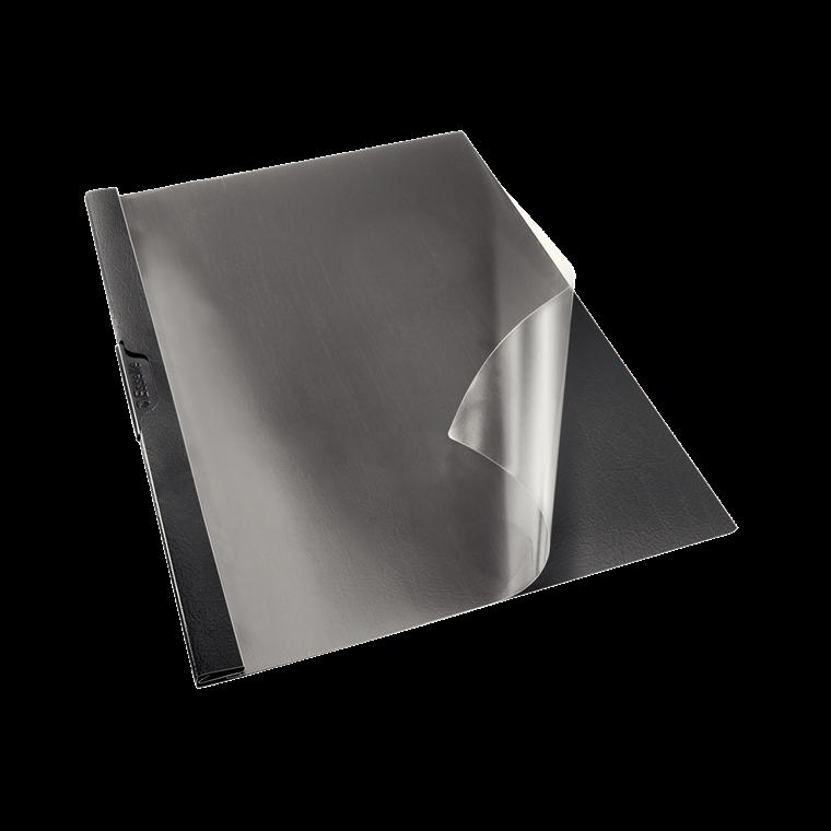 Esselte Universalmappe A4 sort med klemryg - 563700