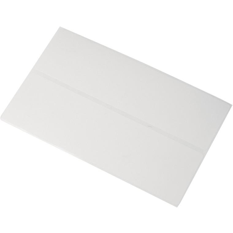 Etiketter - Frankering 40 x 136 mm - 1000 stk