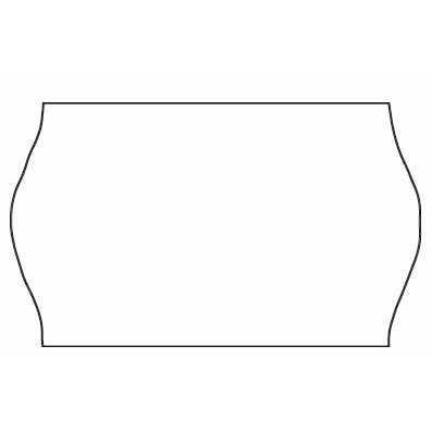 Etiketter - Meto 32 x 19 mm hvid nonperm. lim 1 - 1000 stk