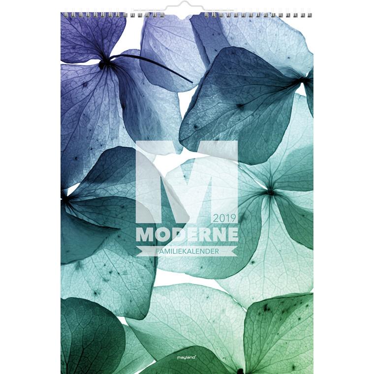 Familiekalender 2019 Mayland A3 Moderne 29,7 x 42 cm - 19066260