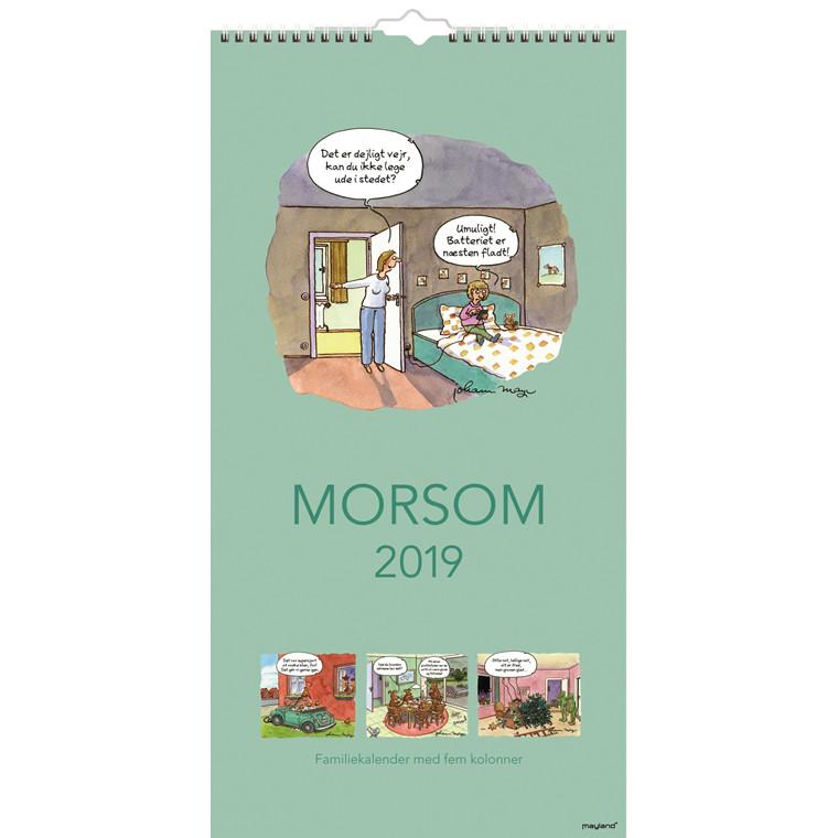Mayland Familiekalender Morsom 22 x 43 cm - 19 0661 40