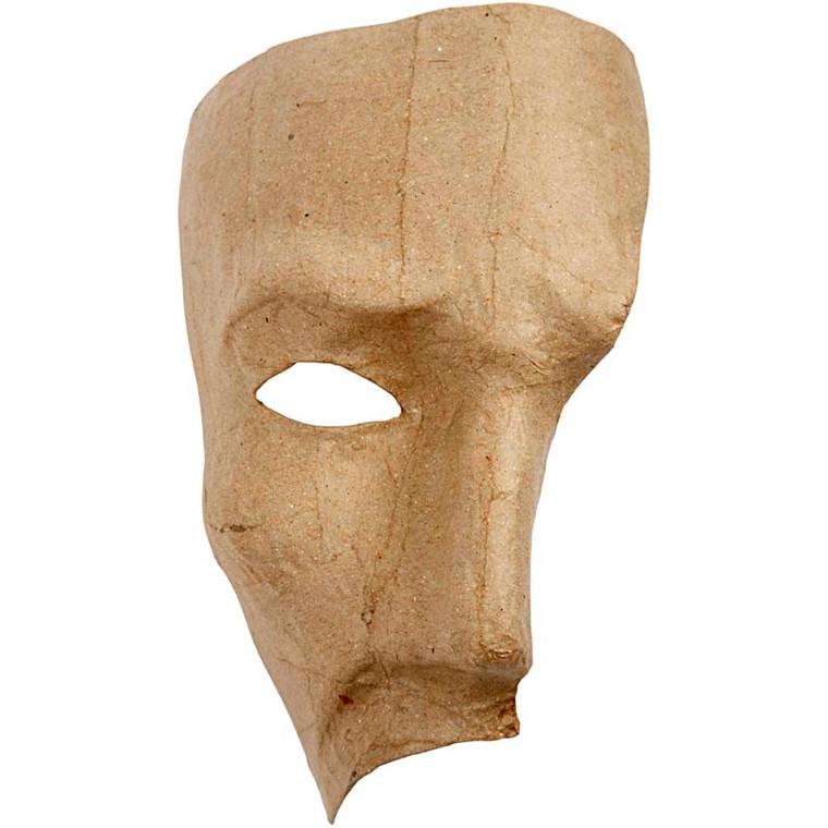 Fantommaske, H: 18,5 cm, 1stk.