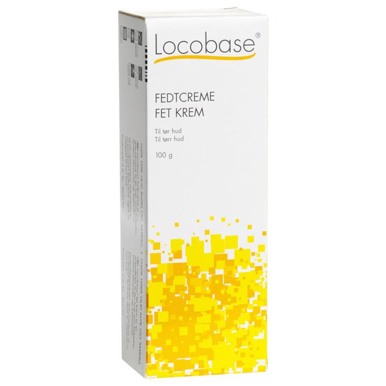Fedtcreme, Locobase, uden farve og parfume, 100 g,