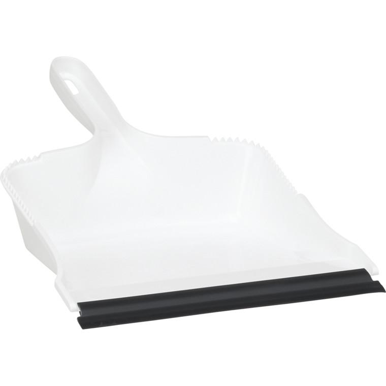 Fejebakke, Vikan Classic, hvid, med gummilæbe, stærk husholdningsmodel