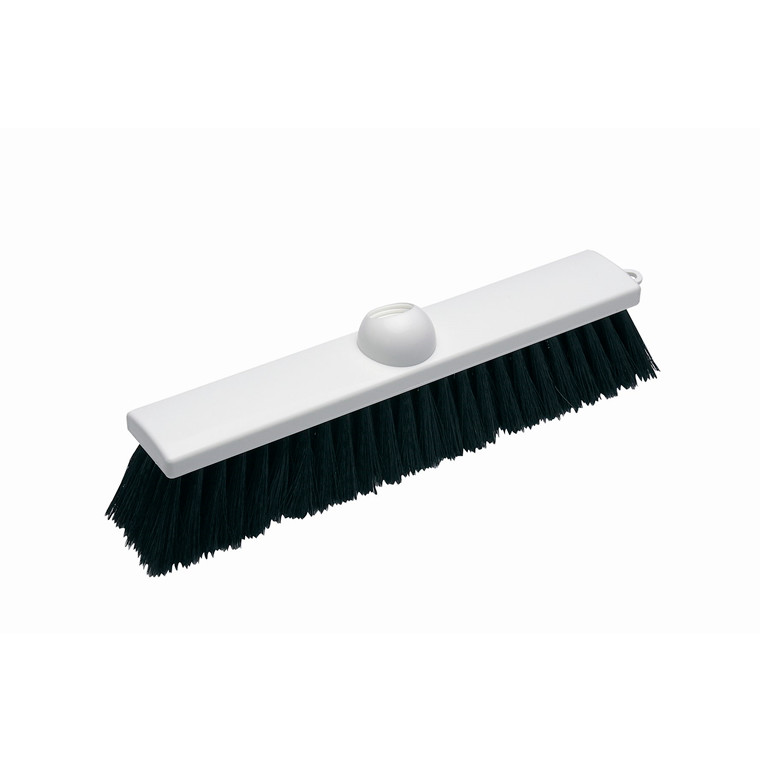 Vikan Hvid Gulvkost - Bløde børstehår - Længde: 300 mm