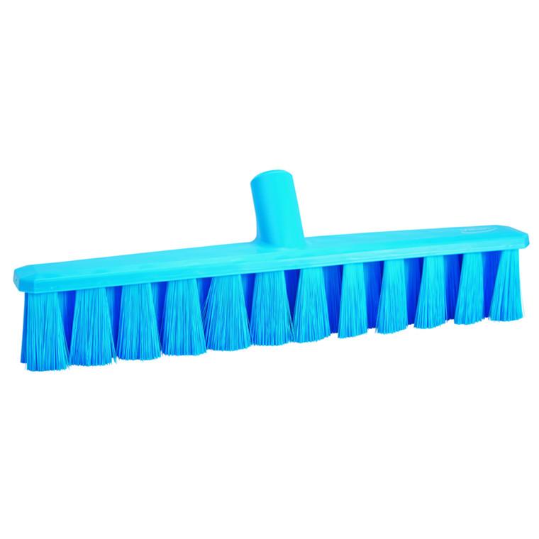 Fejekost, Vikan, 5x40x9,5cm, blå, polyester/glas/PP, bløde børstehår, UST