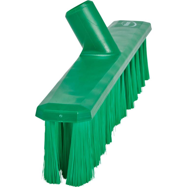 Fejekost, Vikan, 5x40x9,5cm, grøn, polyester/glas/PP, bløde børstehår, UST *Denne vare tages ikke retur*