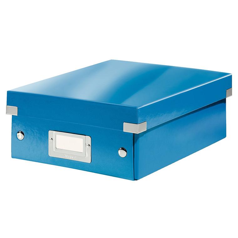 Leitz Click & Store opbevaringskasse 22 x 10 x 28,5 cm - Blå