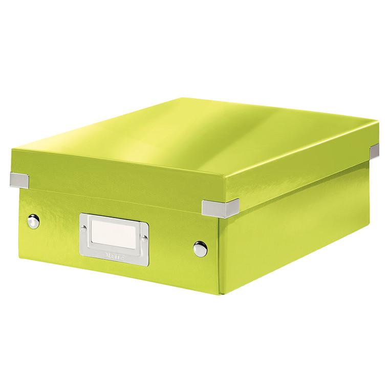 Leitz Click & Store opbevaringskasse 22 x 10 x 28,5 cm - Grøn