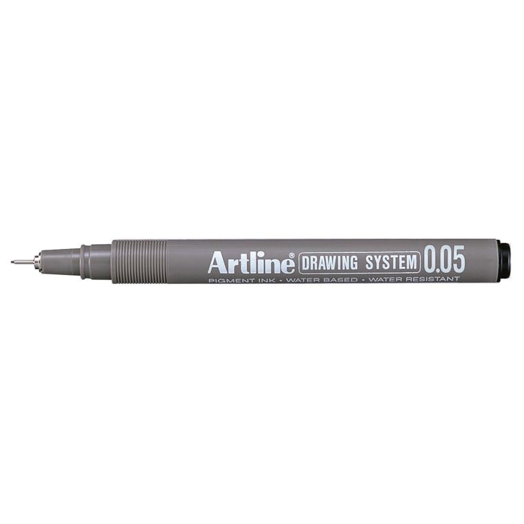 Fiberpen Artline EK2305 sort 0,05mm