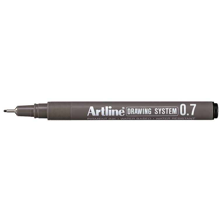 Fiberpen Artline EK237 sort 0,7mm