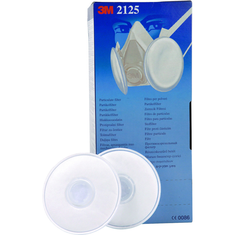 Filter til halvmaske, 3M, 2125/P2