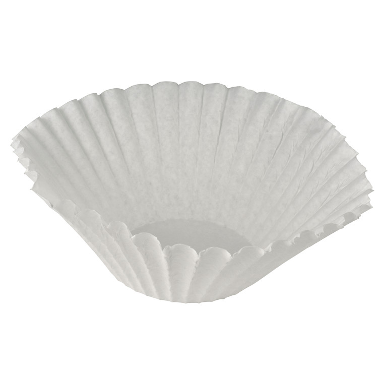 Filterposer skålfilter hvid 250/84-90mm 250stk/pak