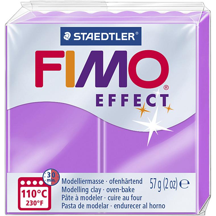 FIMO ler Effect, neon lilla, 57g