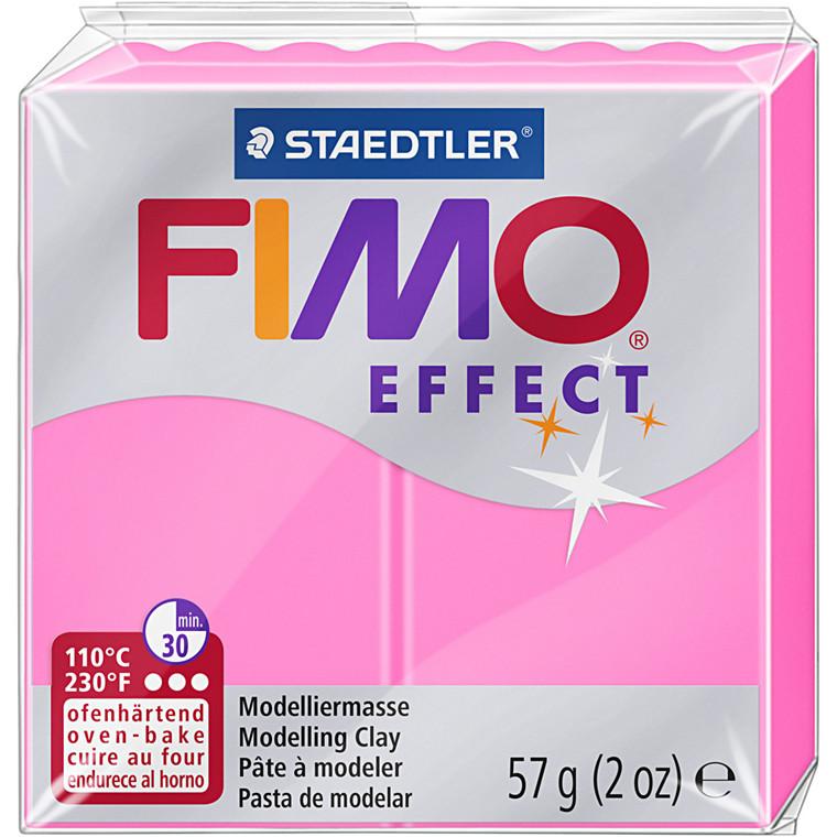 FIMO ler Effect, neon pink, 57g